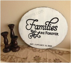 families-sign